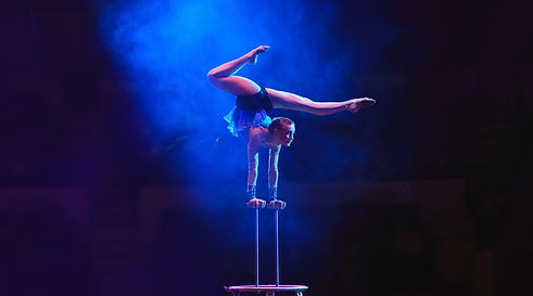 Handstand on Poles