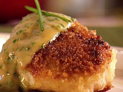 Cod with Chive Butter Sauce