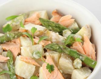 Scottish Salmon and Potato Salad