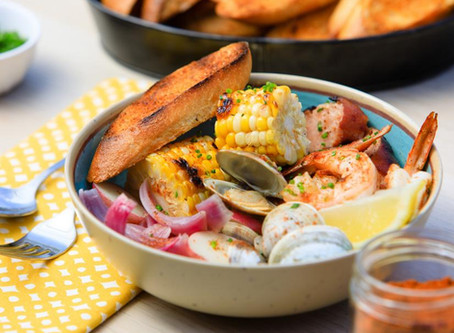 Grilled Clambake Dinner