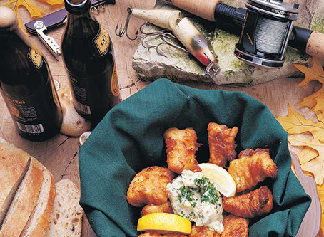 Beer-Battered Northern Pike