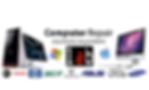 Computer Repair, Laptop crack screen, desktop repair, printer repair