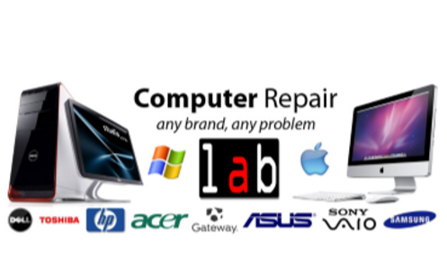 Computer Repair, Laptop crack screen, desktop repair, printer repair