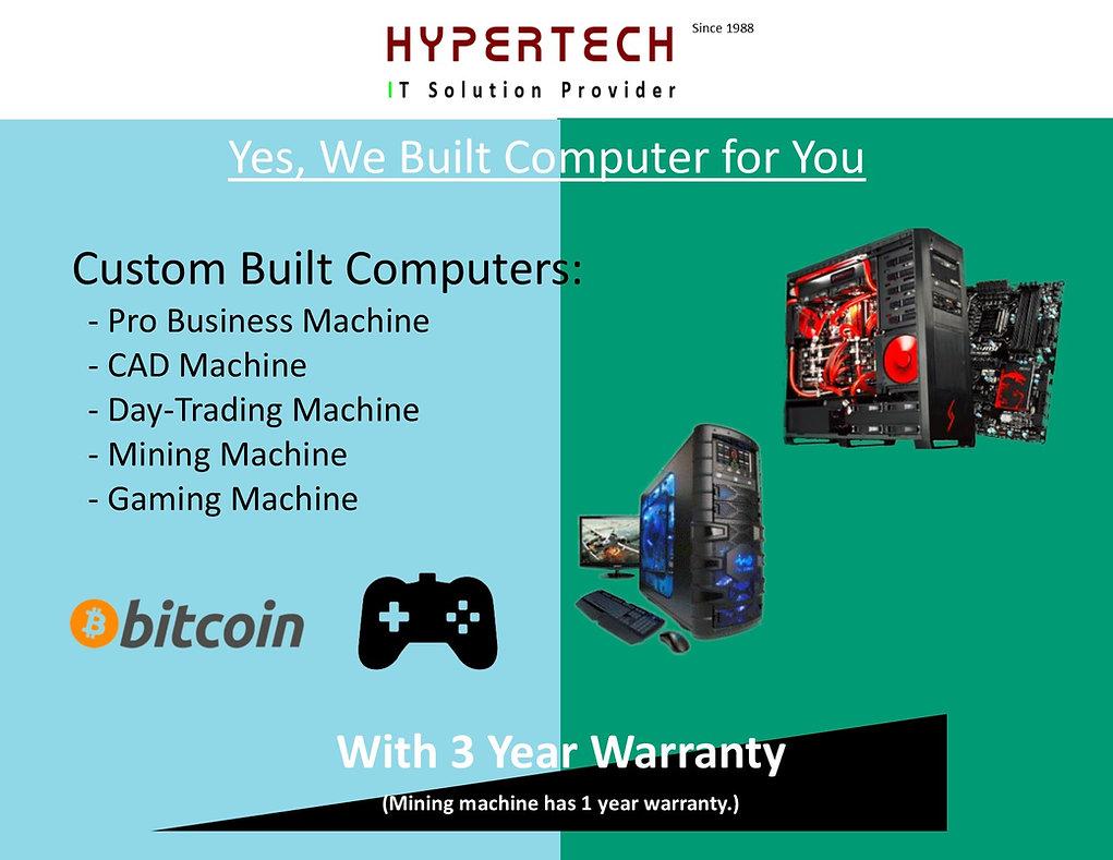 Custom Built Machine
