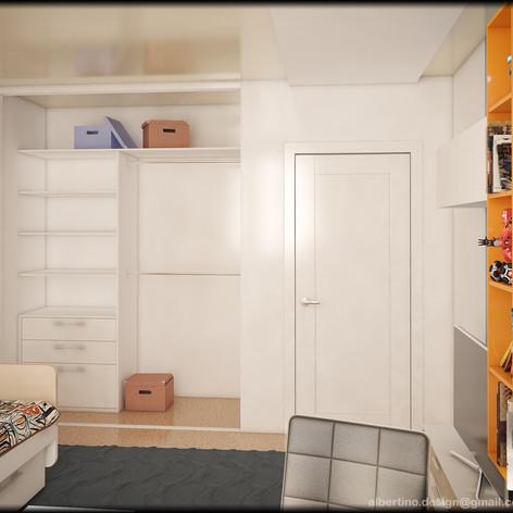 Детская комната наполненение шкафа купе