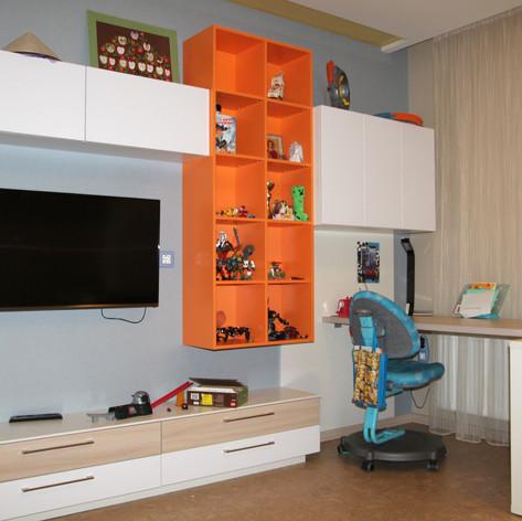 Детская комната реализация проекта