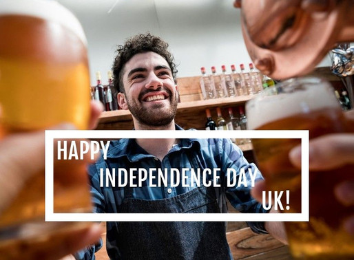 Happy Independence Day UK!