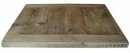 Farmhouse-Style-Reclaimed-Scaffold-Table