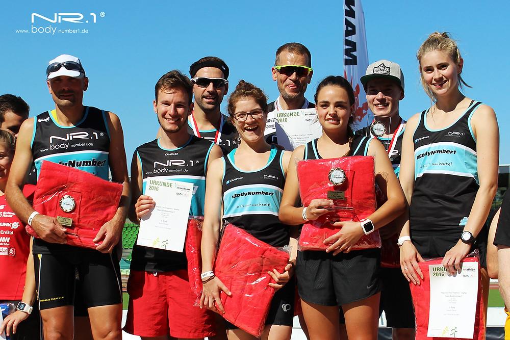 Einstein Triathlon 2016 - Team BodyNumber1 | Mixed