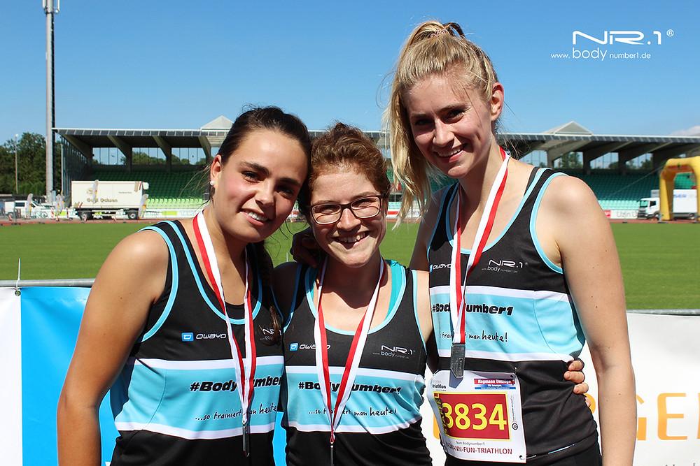 Einstein Triathlon 2016 - Team BodyNumber1 | Frauen