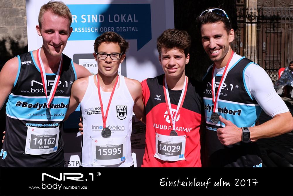Einsteinmarathon Ulm BodyNumber1
