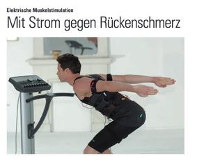 Mit Strom gegen Rückenschmerz