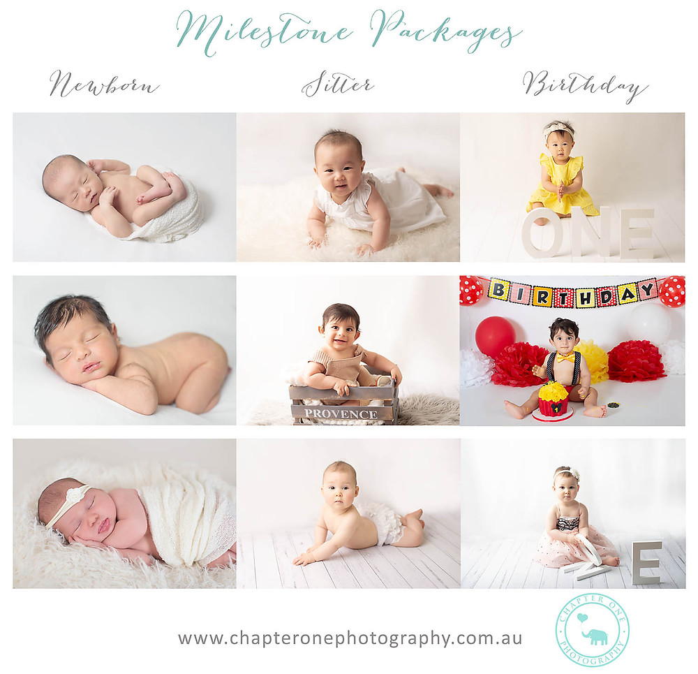 baby Milestone Packages