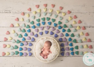 Newborns in our nests and baskets