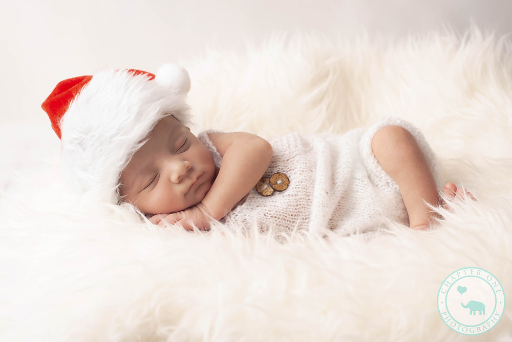 Christmas newborn baby Photography North Sydney