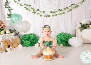 Phoebe / 1 year old, Jungle boho theme