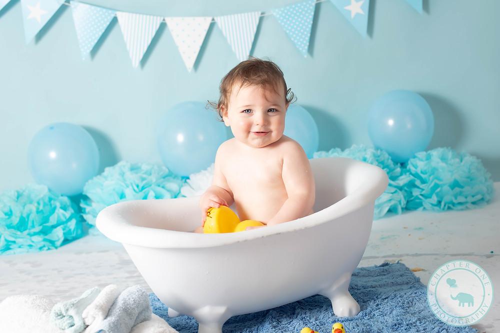 Bath Splash Cake Smash Photography Sydney