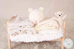 Newborn Photography wraps & bonnets
