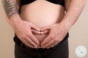 Heart Hands Maternity Photography