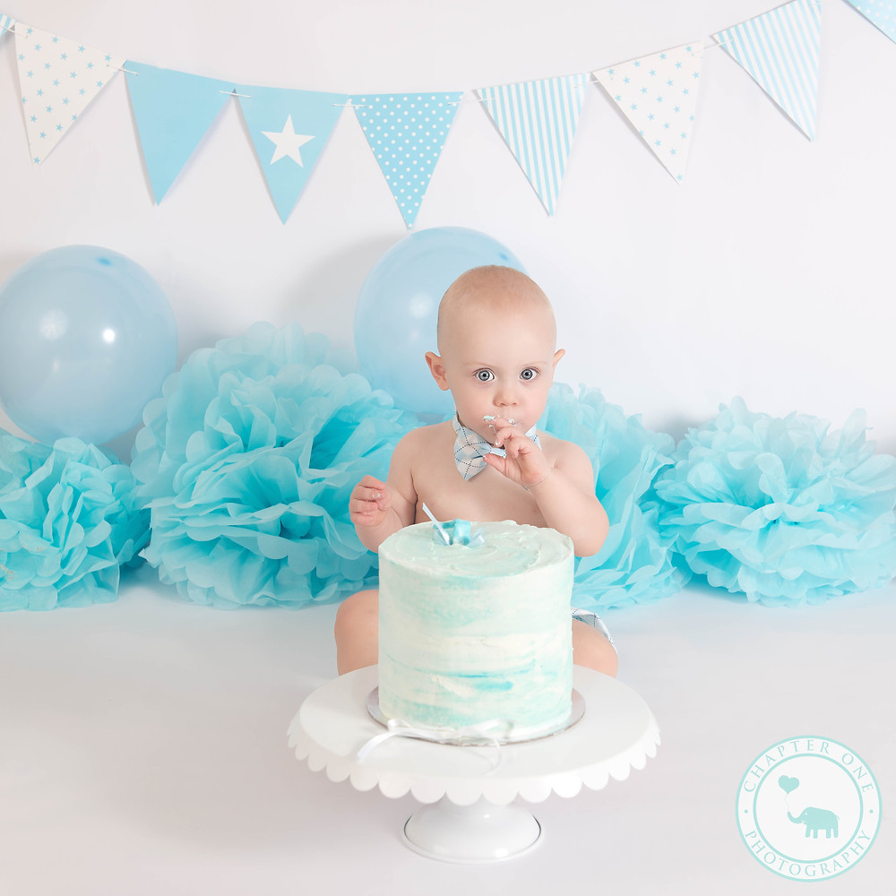 Boy cake Smash Photography Sydney