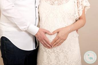 North Sydney Maternity Photography Heart