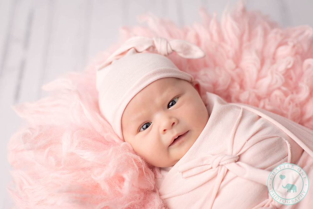 Newborn Photography Sydney baby in pink