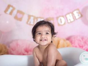 One Year old Niyati