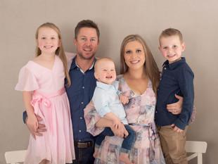 Family Birthday Celebrations - Turning One