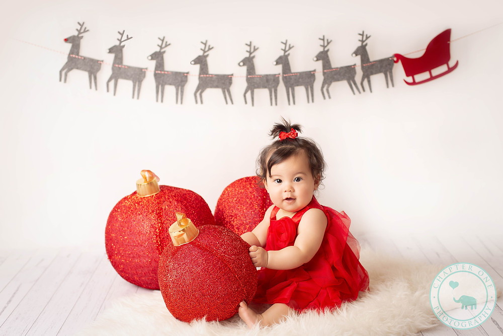 Baby Christmas photography North Sydney