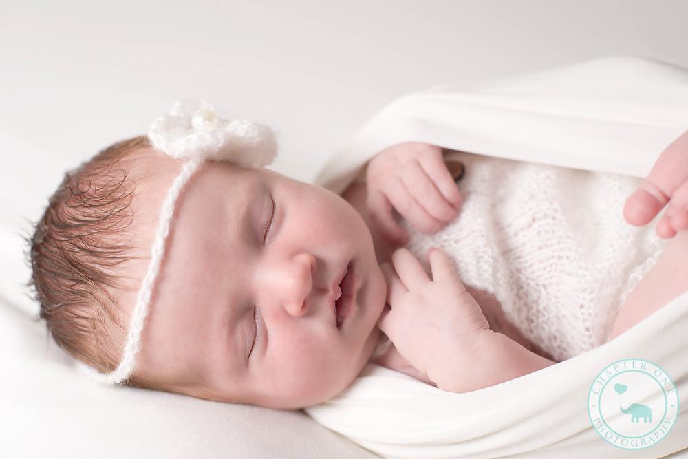 red head newborn