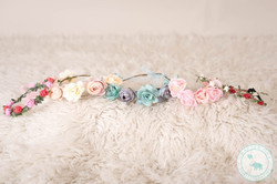 Maternity Photography floral crowns