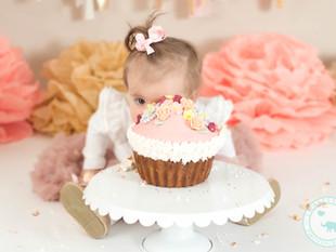 Pink Cake Smash - Sydney Cake Smash Photography