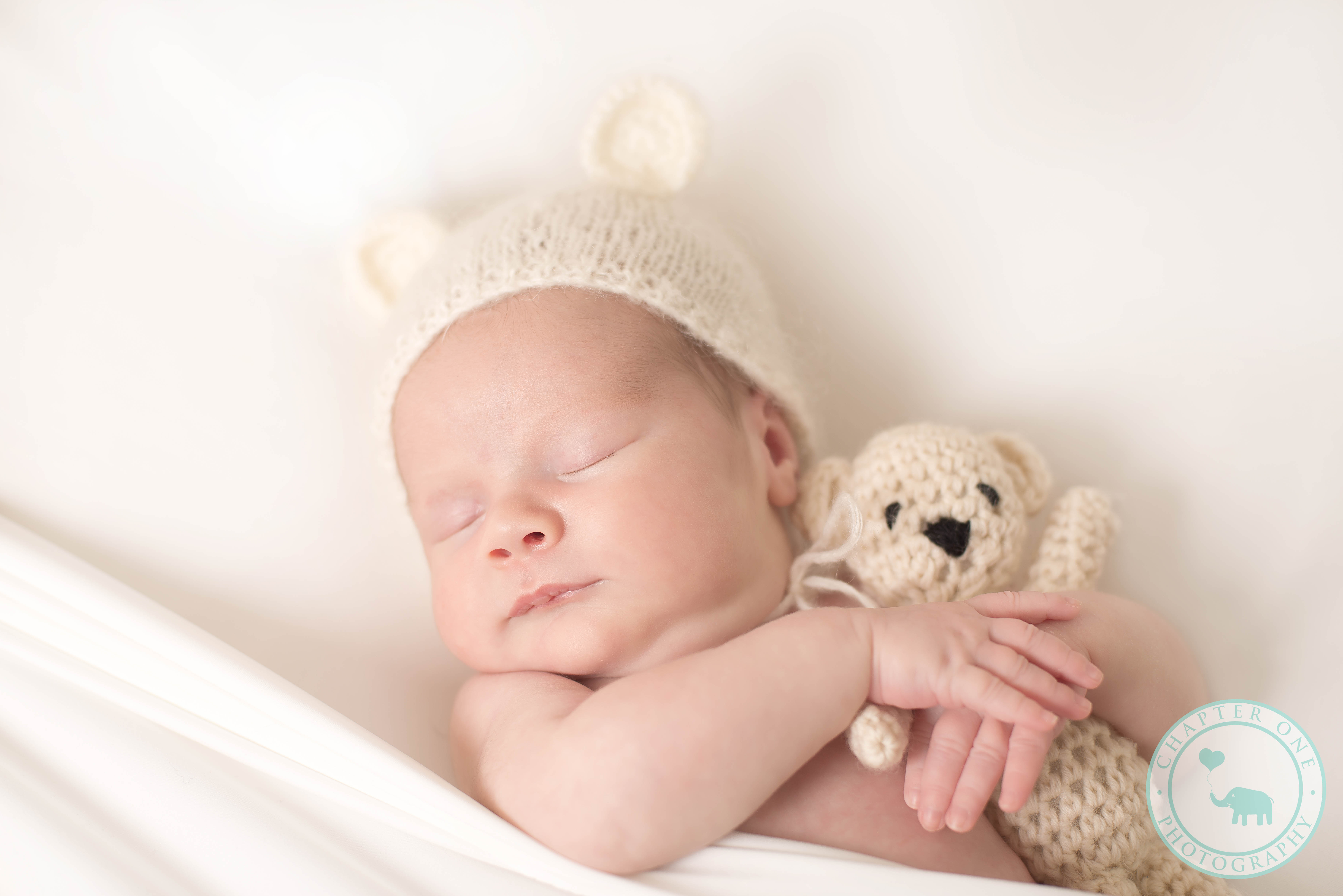 Baby Boy Newborn with teddy