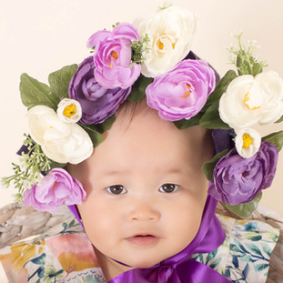 Sitter Baby Photography North Sydney Flower Crown