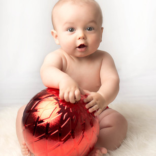 Xmas Sitter Baby Photography North Sydney