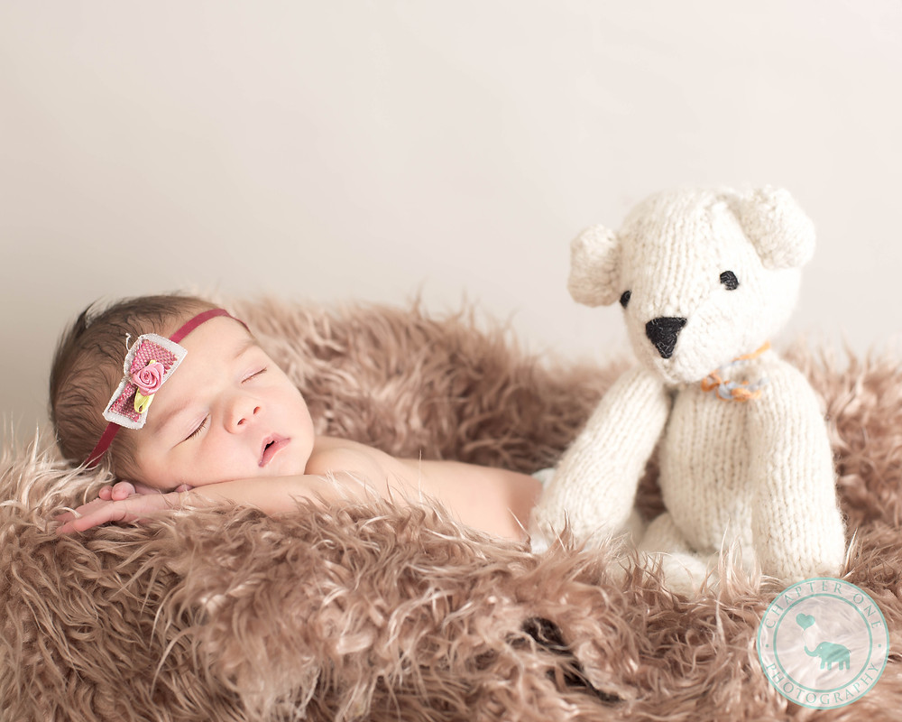 8 day old newborn photography