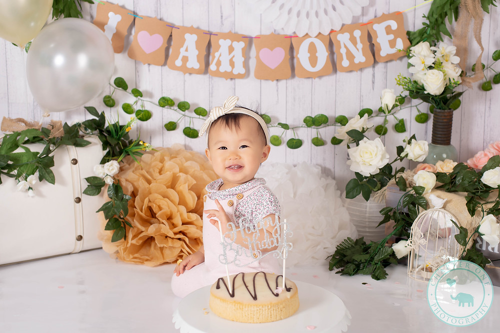Cake Smash Photography North Sydney Shabby Chic Style