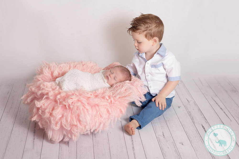 Newborn Photography North Sydney with Sibling