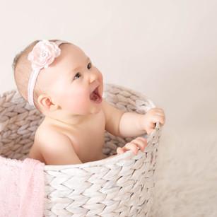 Girl Sitter Baby Photography North Sydney