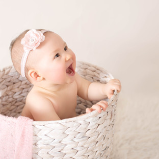 Girl Sitter Baby Photography North Sydney