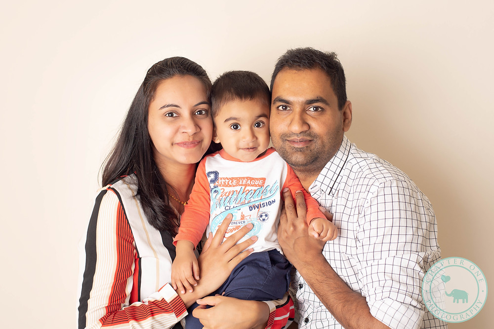 family photography to celebrate baby's first birthday