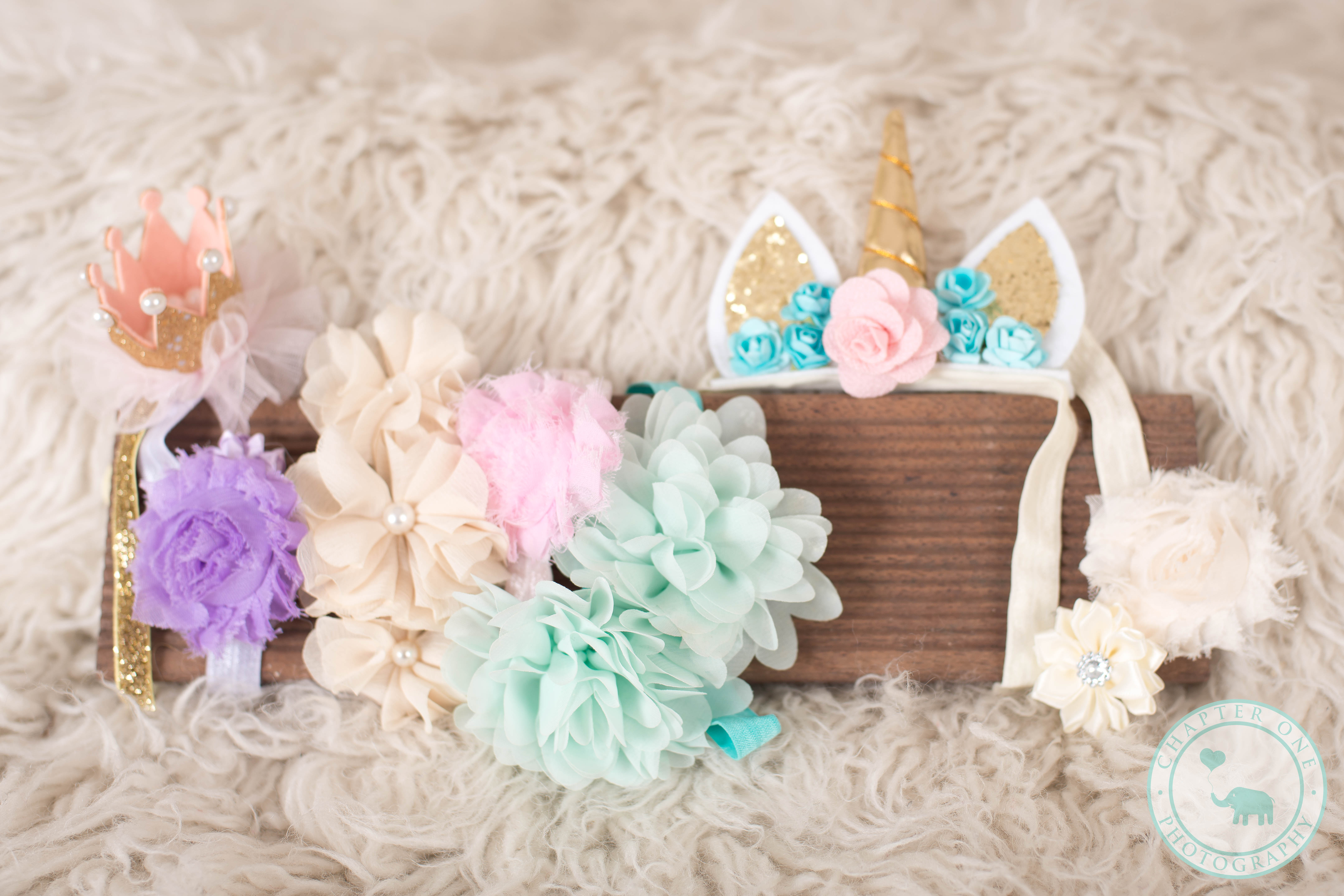 Newborn Photography headbands Sydney