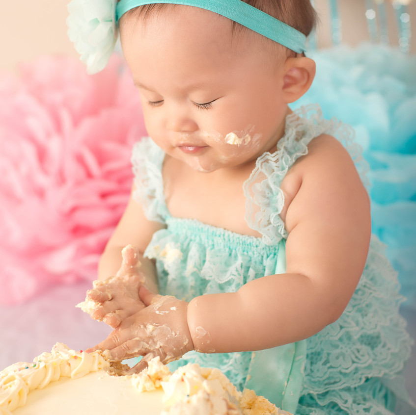 Cake Smash Photography Sydney girl