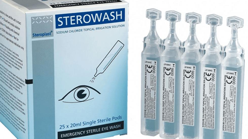 Eyewash bottles (5 pack)