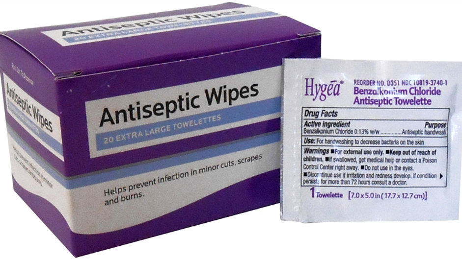 Antiseptic wipes (20ct)