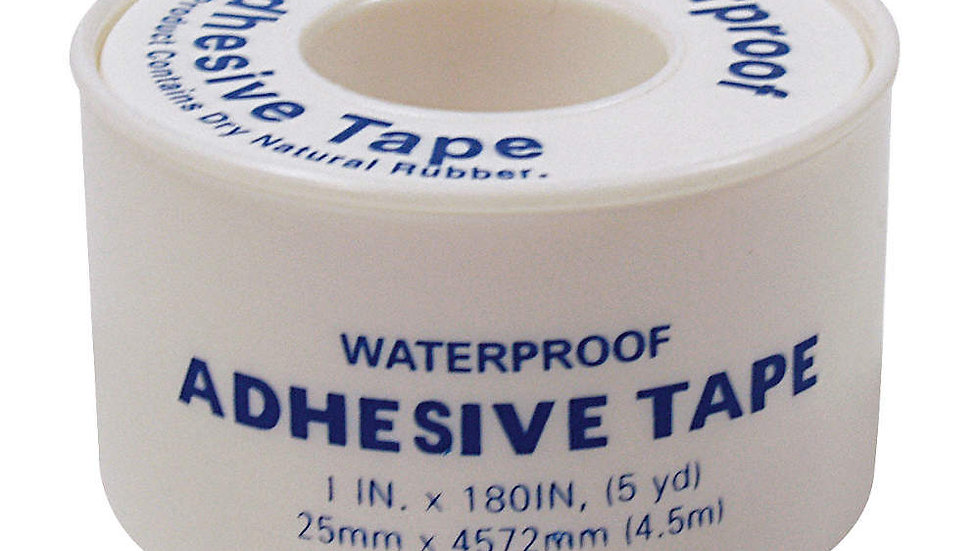 "Waterproof first-aid tape 1"" x 5yd"