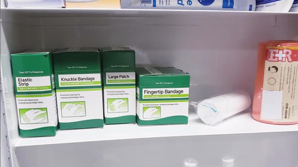 3 Shelf kit (OSHA filled)