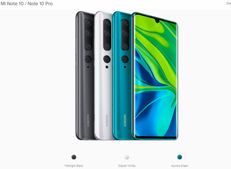 Mi Note 10 Pro to launch with 108-megapixel camera in last week of january