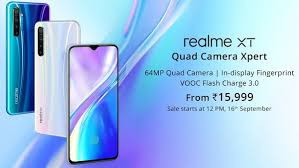 Realme Xt launched India's first; 64MP camera phone all you need to know.