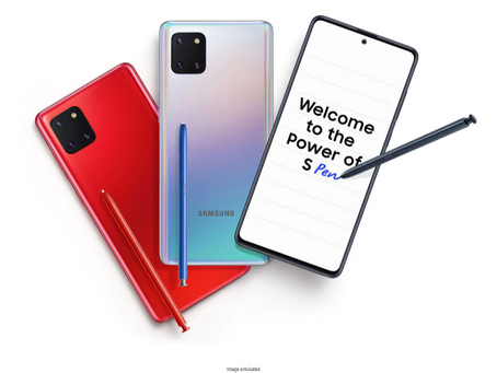 Samsung galaxy note 10 lite launched; checkout features, price and more.
